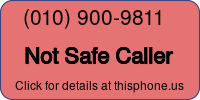 Phone Badge for 0109009811
