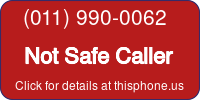 Phone Badge for 0119900062