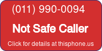 Phone Badge for 0119900094
