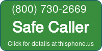 Phone Badge for 18007302669