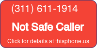 Phone Badge for 3116111914