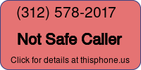 Phone Badge for 3125782017
