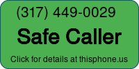 Phone Badge for 3174490029