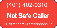 Phone Badge for 4014020310