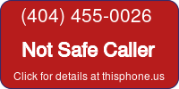 Phone Badge for 4044550026