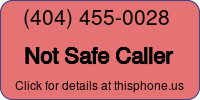 Phone Badge for 4044550028