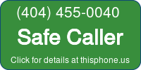 Phone Badge for 4044550040