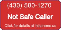 Phone Badge for 4305801270