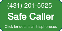 Phone Badge for 4312015525