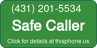 Phone Badge for 4312015534