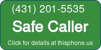 Phone Badge for 4312015535