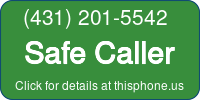 Phone Badge for 4312015542