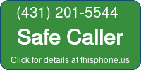 Phone Badge for 4312015544