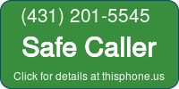 Phone Badge for 4312015545
