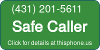 Phone Badge for 4312015611