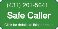 Phone Badge for 4312015641