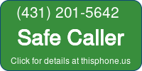 Phone Badge for 4312015642