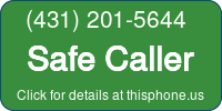 Phone Badge for 4312015644