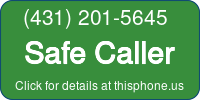 Phone Badge for 4312015645