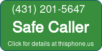 Phone Badge for 4312015647