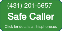Phone Badge for 4312015657