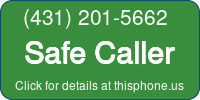 Phone Badge for 4312015662
