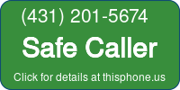 Phone Badge for 4312015674