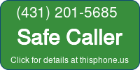 Phone Badge for 4312015685