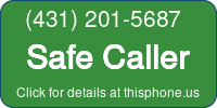 Phone Badge for 4312015687