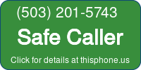 Phone Badge for 5032015743