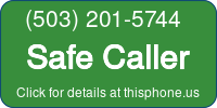 Phone Badge for 5032015744