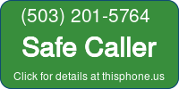 Phone Badge for 5032015764