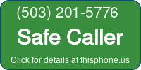 Phone Badge for 5032015776