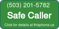 Phone Badge for 5032015782
