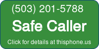 Phone Badge for 5032015788