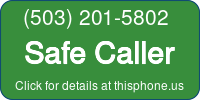 Phone Badge for 5032015802