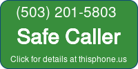 Phone Badge for 5032015803