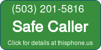 Phone Badge for 5032015816
