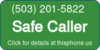 Phone Badge for 5032015822