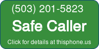 Phone Badge for 5032015823