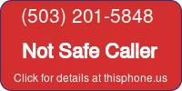 Phone Badge for 5032015848