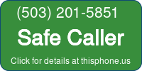 Phone Badge for 5032015851
