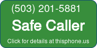 Phone Badge for 5032015881