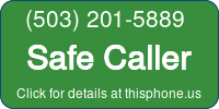 Phone Badge for 5032015889