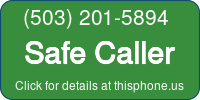 Phone Badge for 5032015894