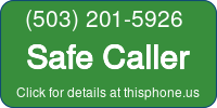 Phone Badge for 5032015926