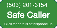 Phone Badge for 5032016154