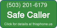 Phone Badge for 5032016179