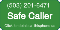 Phone Badge for 5032016471