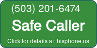 Phone Badge for 5032016474